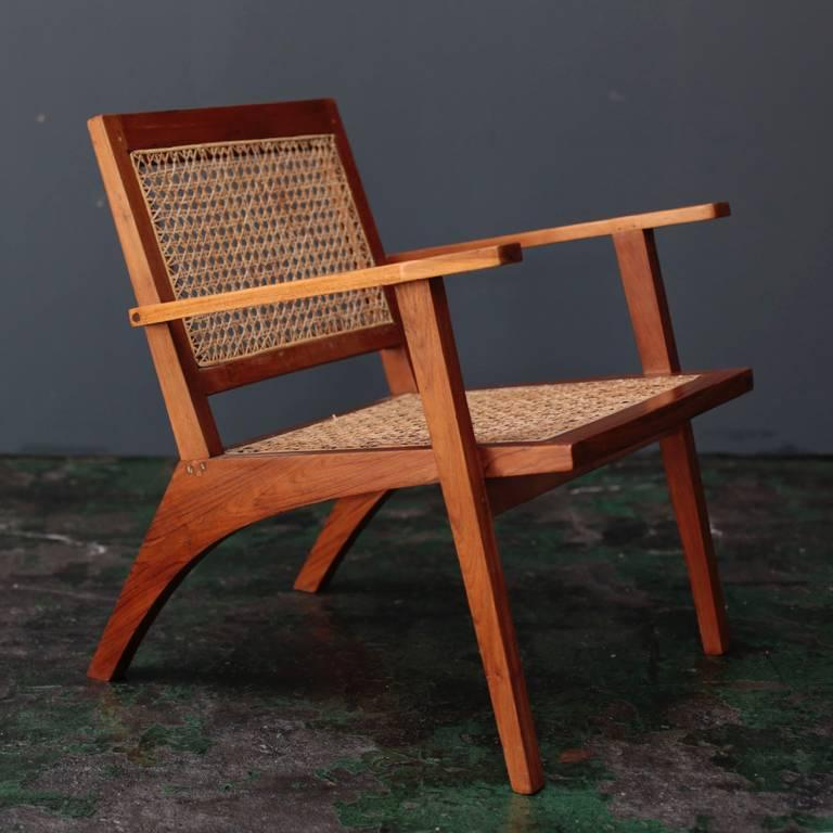 Vintage easy chair from India. A piece that seems to have searched for its  own - Vintage Easy Chair From India At 1stdibs