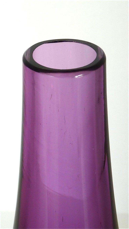 Flavio Poli Seguso Vase and Bowl Purple Pink Blue Murano Art Glass Italy, 1950s In Good Condition For Sale In Nierstein am Rhein, DE