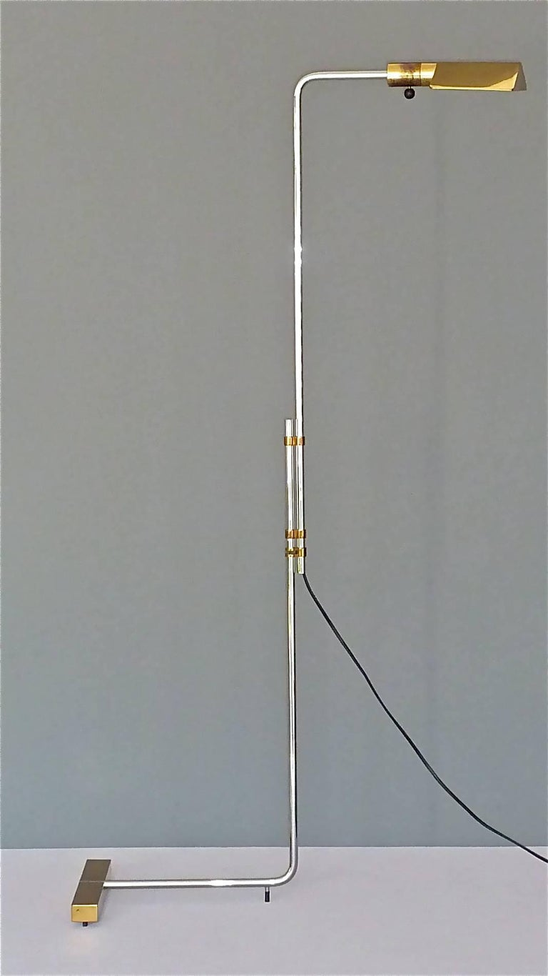Important 1966 Cedric Hartman Floor Lamp for Jack Lenor Larsen Serial No. 1 For Sale 1