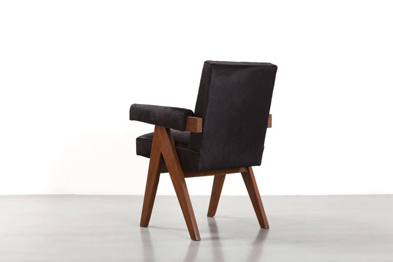 """Mid-Century Modern Pierre Jeanneret, """"Office Chair"""", circa 1959-1960 For Sale"""