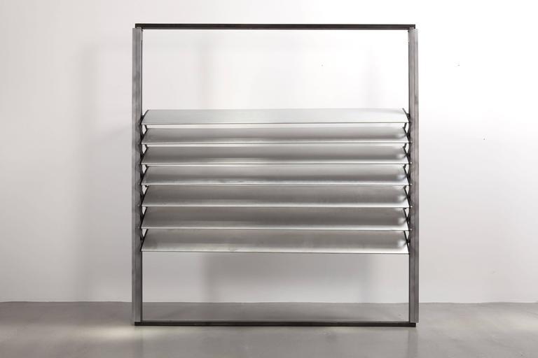 Mid-Century Modern Jean Prouvé, Large Sun Shutter, 1962-1965 For Sale