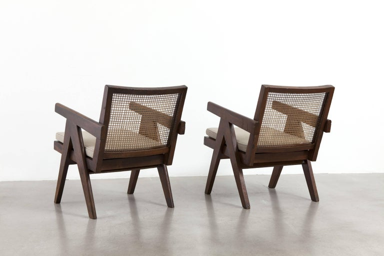 Indian Pierre Jeanneret, Pair of