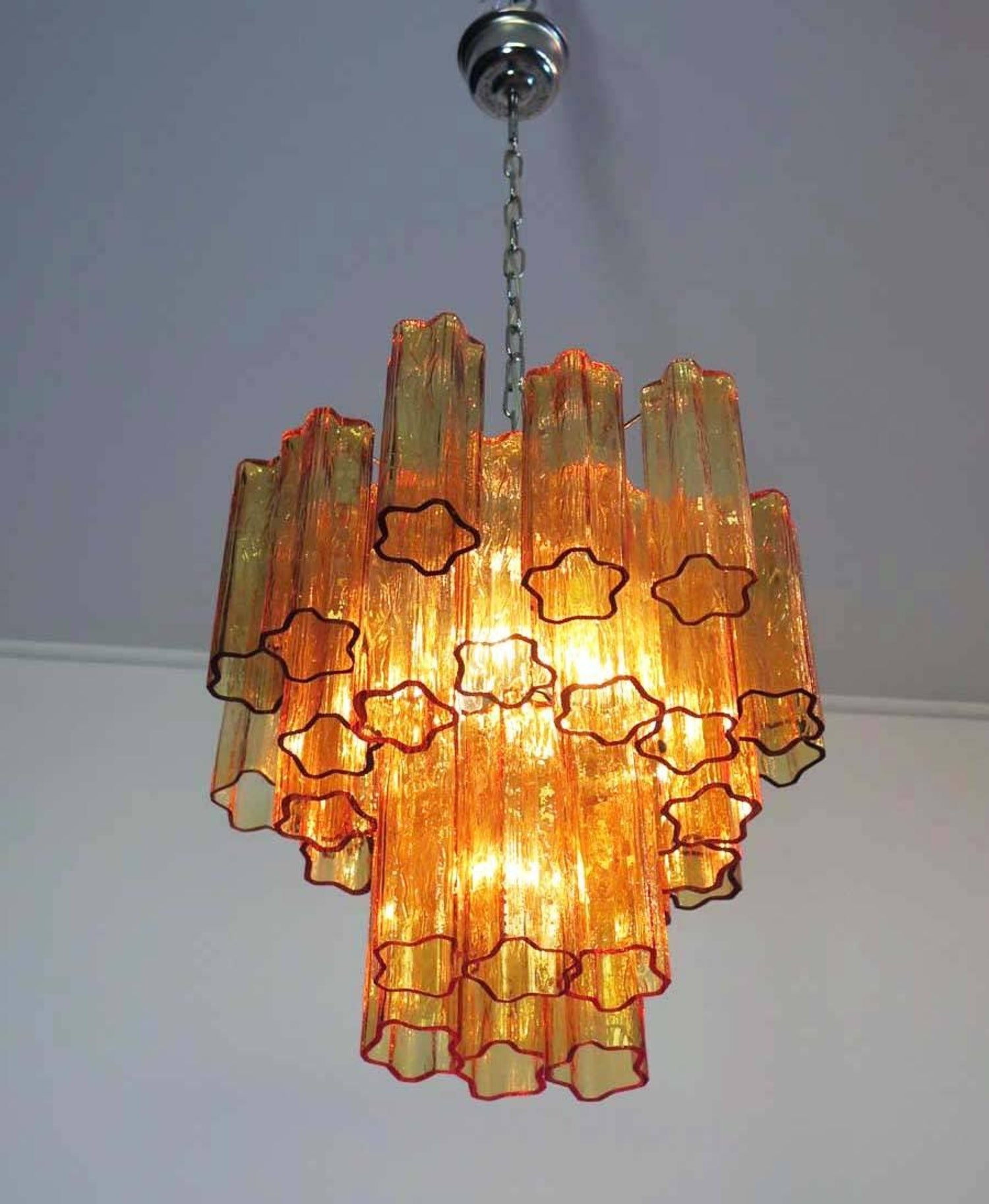 orange hand are art craft round finished store glasss chandelier artistic would picture the blown color be our from original as such different glass light little chihuly small product diy products a