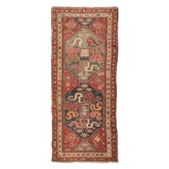 "20th Century Caucasian Wool Rug, Karabagh ""Chondoresh"" Design, circa 1912"