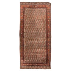 """19th Century Persian Wool Rug, Kasghay with """"Bothe"""" Design,circa 1880"""