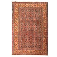 Persian Wool Rug, Melayir, Minakani Design, circa 1900