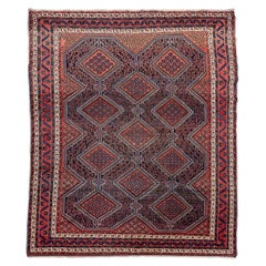 20th Century Persian Wool Rug, Afsahr Design, circa 1920