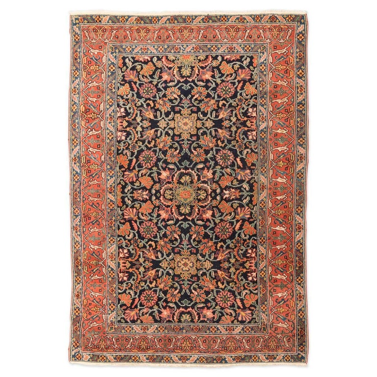 20th Century Mel Persian Wool Rug Garrus Design Circa 1900 For
