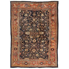 Late 19th Century Ziegler Sultanabad Persian Wool Rug