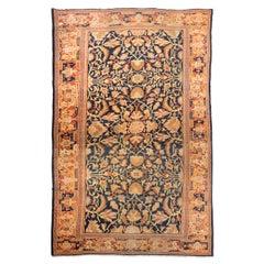 Antique Ziegler Rug, circa 1890 with Classic Persian Design of Palmettes