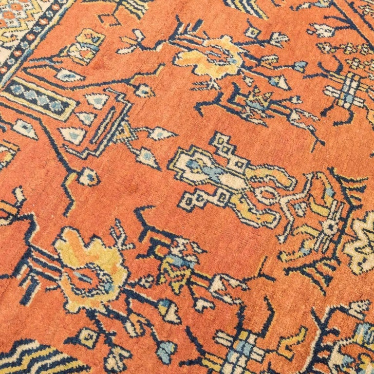 20th Century Samarkand Wool Rug, Kothan Design, circa 1900 In Excellent Condition For Sale In MADRID, ES