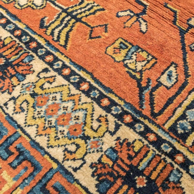 20th Century Samarkand Wool Rug, Kothan Design, circa 1900 For Sale 4