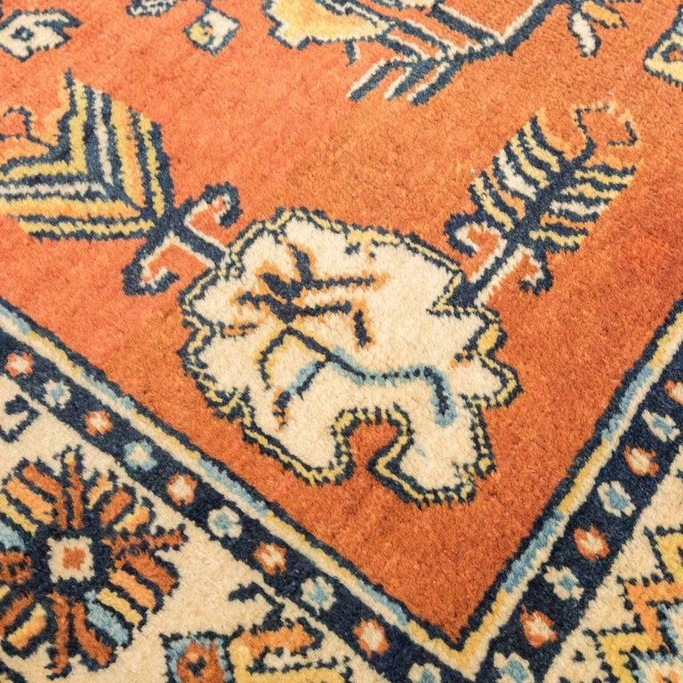 20th Century Samarkand Wool Rug, Kothan Design, circa 1900 For Sale 5