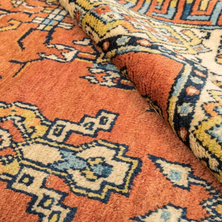 20th Century Samarkand Wool Rug, Kothan Design, circa 1900 For Sale 6