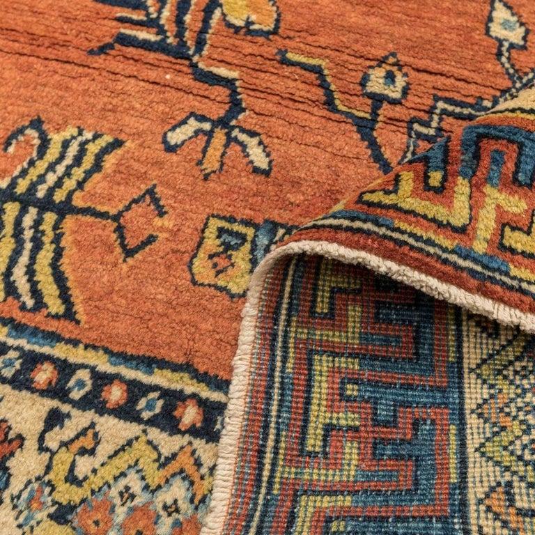 20th Century Samarkand Wool Rug, Kothan Design, circa 1900 For Sale 7