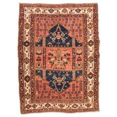 20th Century Antique Wool Rug, Derbend with Double Niche Design, circa 1920