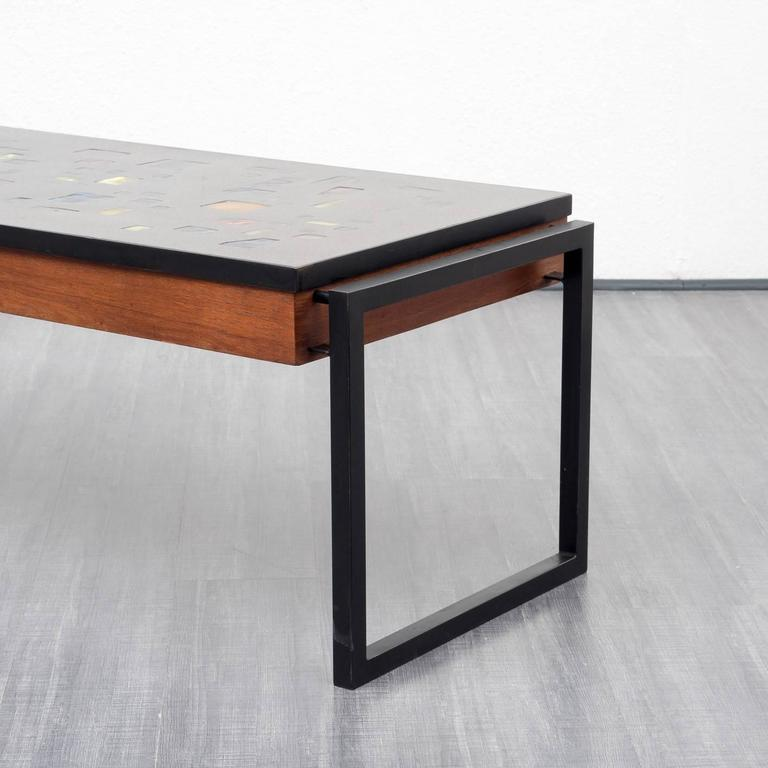 Illuminated 1960s Coffee Table Teak At 1stdibs