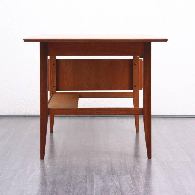 1960s teakwood desk scandinavian style for sale at 1stdibs for Schreibtisch skandinavisch
