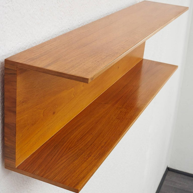 1960s Wall Shelf, Walter Wirz for Wilhelm Renz 6