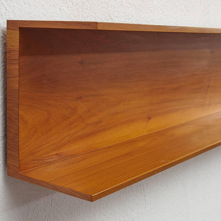 1960s Wall Shelf, Walter Wirz for Wilhelm Renz 4