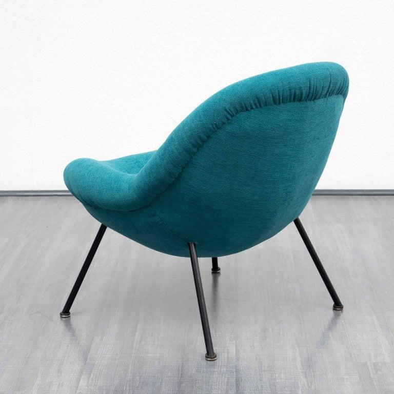 fritz neth kugelsessel correcta neu gepolstert for sale at 1stdibs. Black Bedroom Furniture Sets. Home Design Ideas