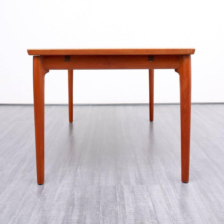 High quality dining table in scandinavian design teak at 1stdibs - Scandinavian style dining table ...