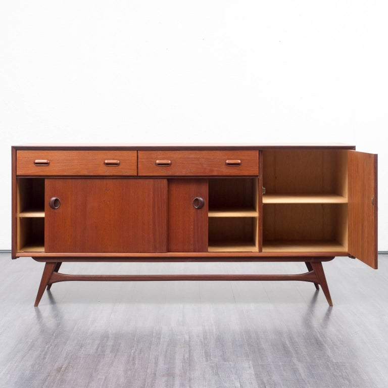 1960s teak sideboard louis van teeflen dutch design at. Black Bedroom Furniture Sets. Home Design Ideas