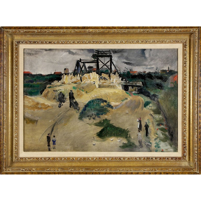 """""""Figures in a Landscape"""" by Lucien Adrion For Sale"""