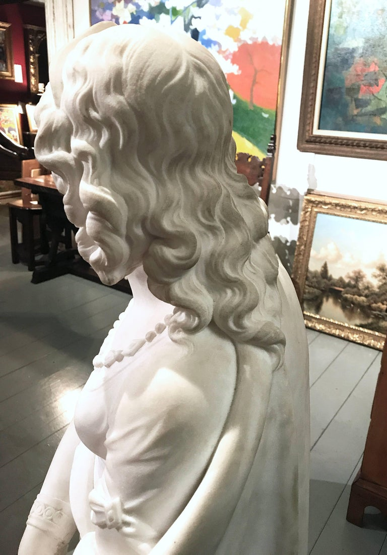 """A Classical Figure of a Woman"" by  Joseph Durham For Sale 3"