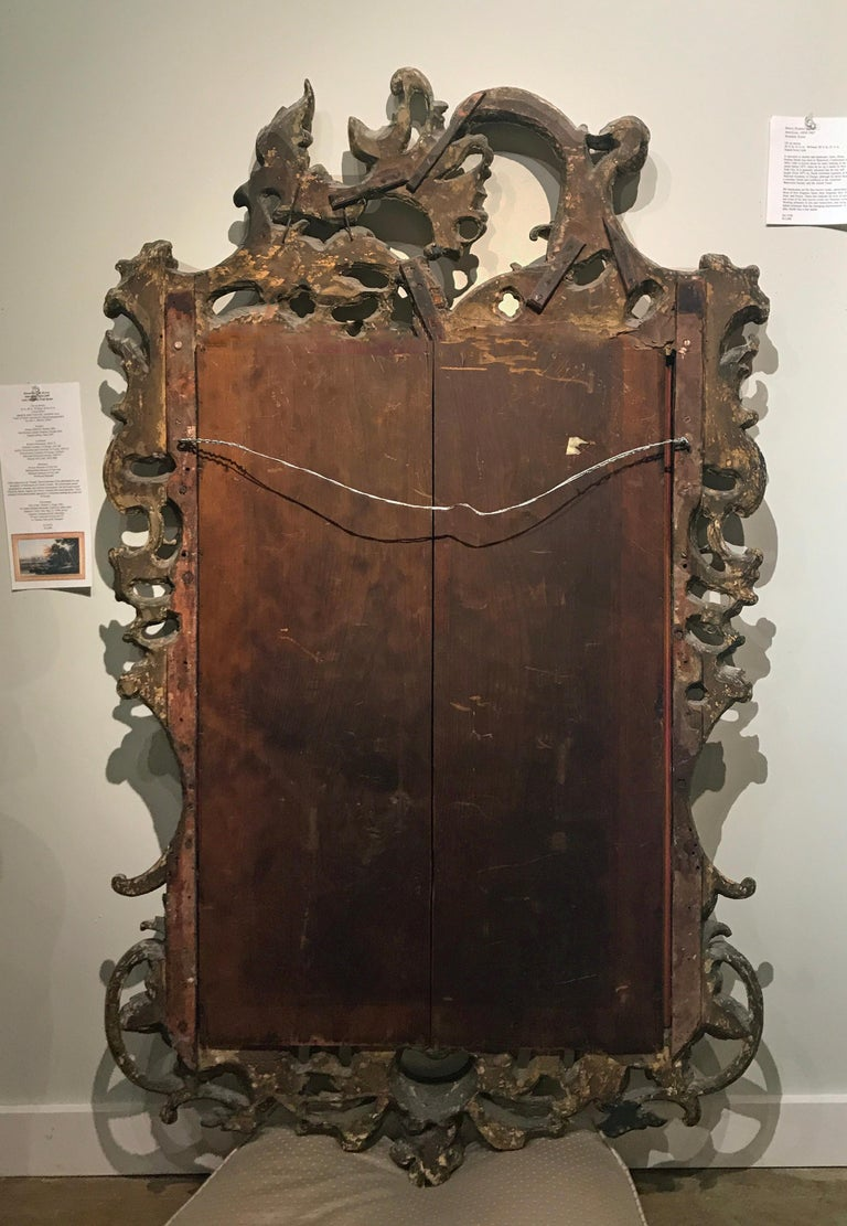 Fine George II Giltwood Mirror For Sale 2