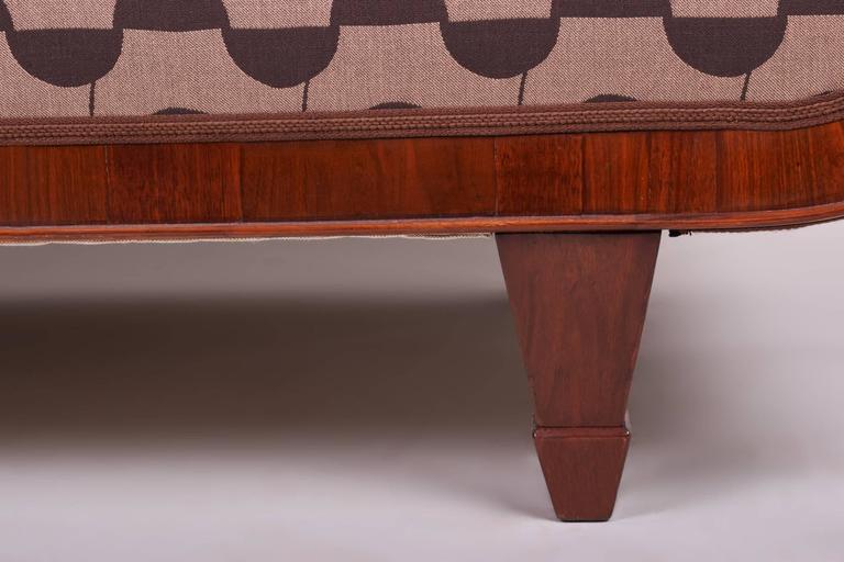 Fabric Art Deco Sofa For Sale