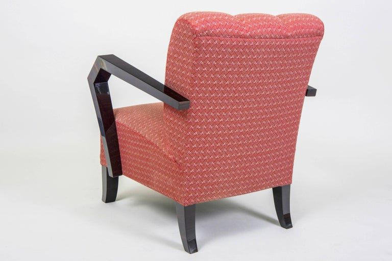 Pair of Art Deco Armchairs from Czechoslovakia For Sale 2