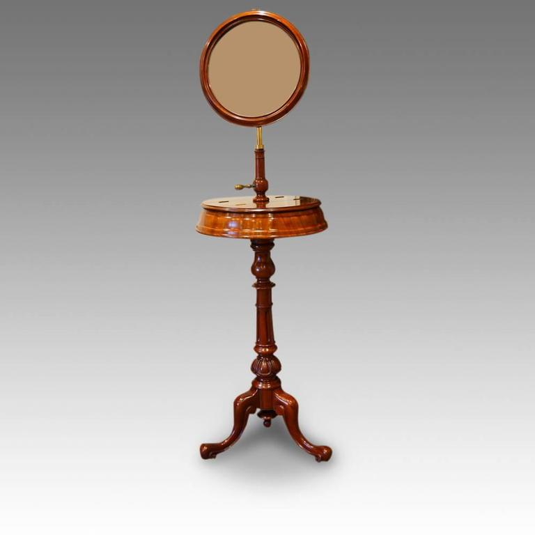 Victorian Mahogany Shaving Stand For Sale At 1stdibs
