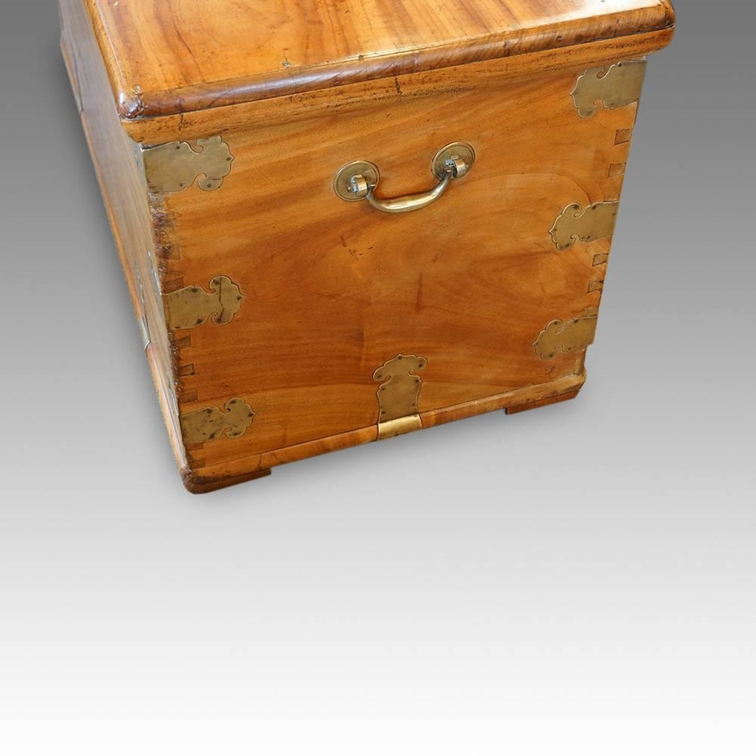 Antique Anglo Indian Camphorwood Chest At 1stdibs