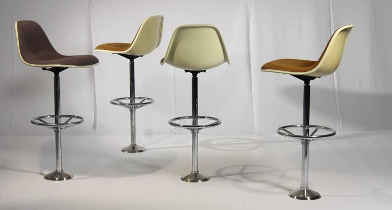 Vintage Bar Stools By Ray And Charles Eames For Herman