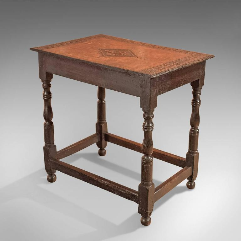 Antique hall table French British Antique Hall Table Georgian Carved Oak Circa 1800 For Sale 1stdibs Antique Hall Table Georgian Carved Oak Circa 1800 At 1stdibs