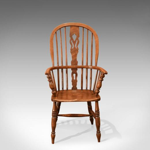 Antique Windsor Stick Back Chair, Victorian, Circa 1870 For Sale At 1stdibs