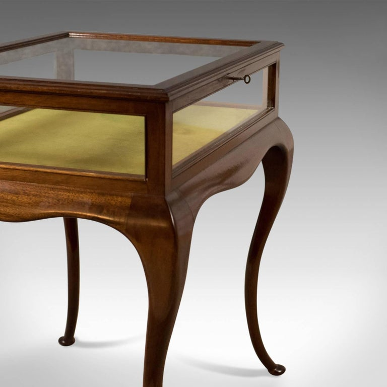 20th Century Antique Bijouterie Table, George V Display Case, English, circa 1915