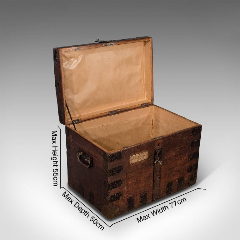 A most pleasing silver chest presented in good antique condition