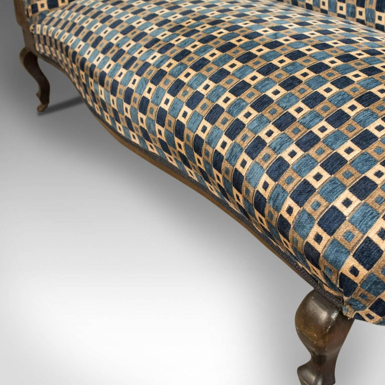 Antique chaise longue edwardian daybed english circa for Antique chaise for sale