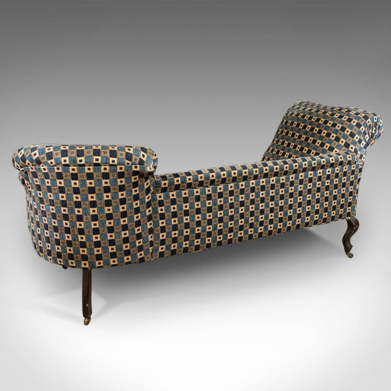 Antique chaise longue edwardian daybed english circa for Chaise longue daybed