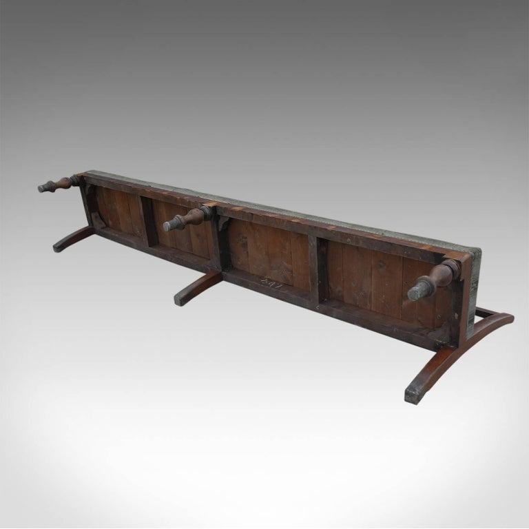 c.1900 Original French Industrial Railroad Cart For Sale