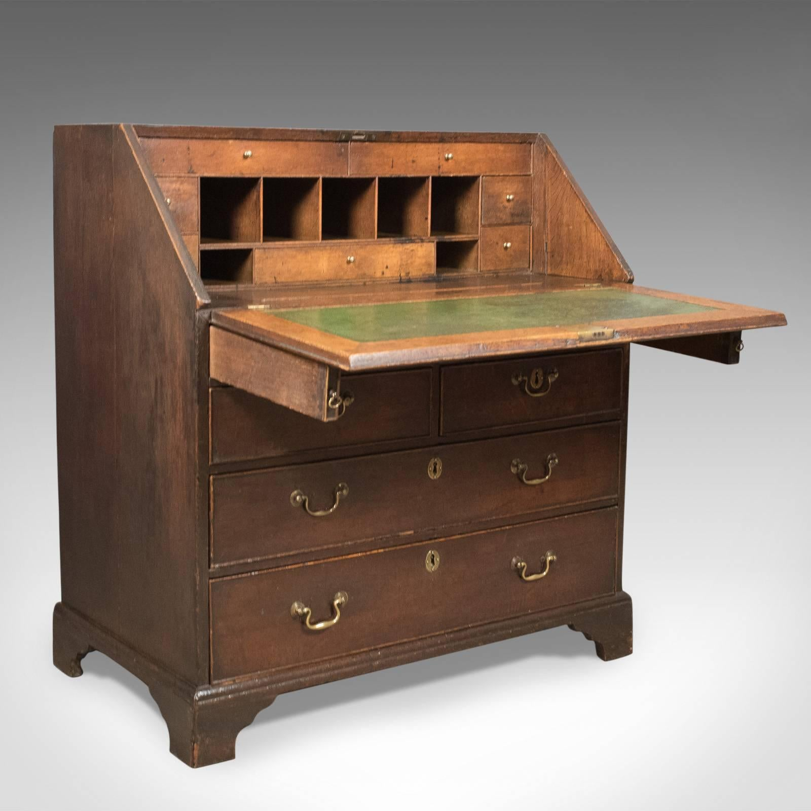 desk drawers small mod good mid mcm products walnut century with the