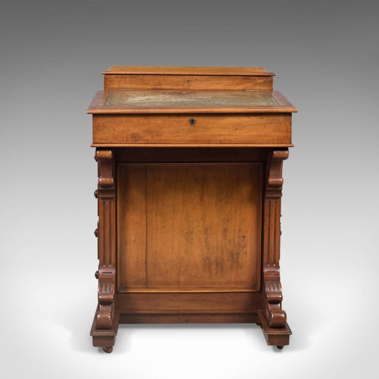 This Is An Antique Davenport English Victorian Writing Desk In Gany Dating To