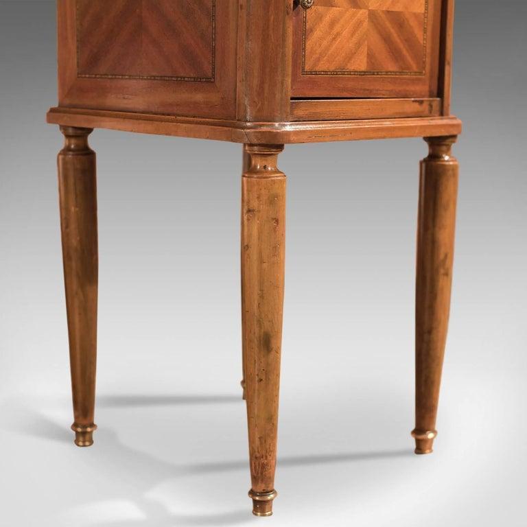 Antique Bedside Table, Mahogany Pot Cupboard, Nightstand, circa 1900 4