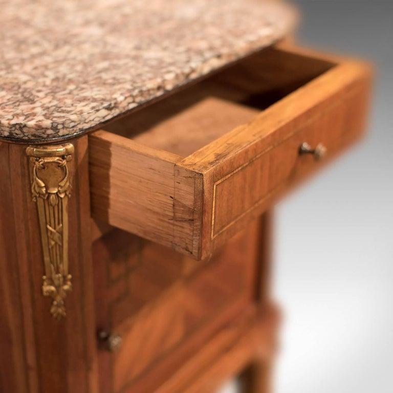 Antique Bedside Table, Mahogany Pot Cupboard, Nightstand, circa 1900 1