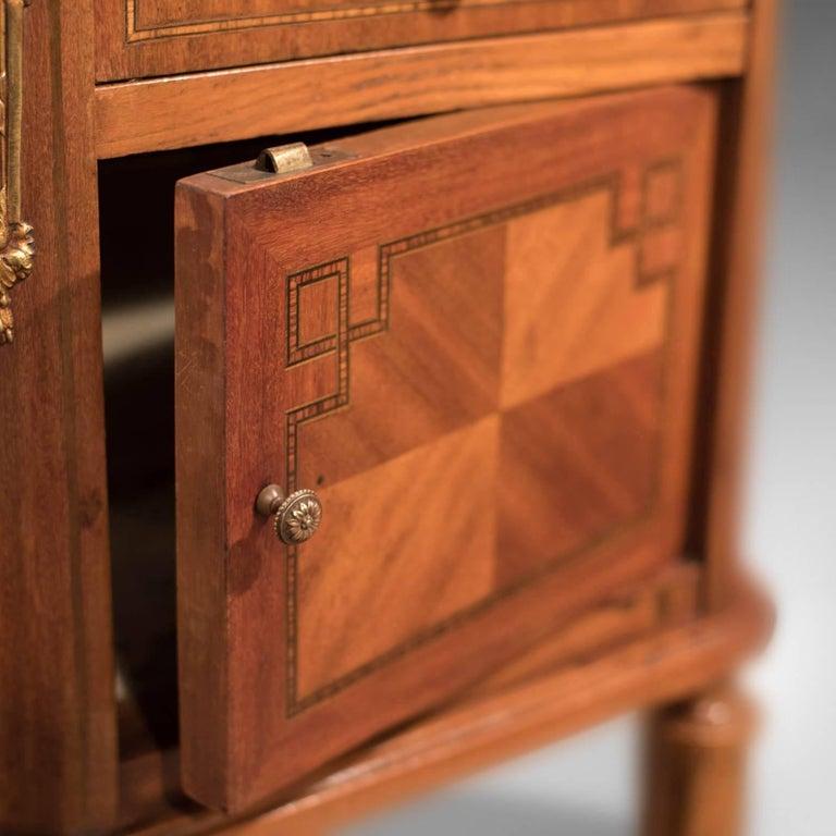 Antique Bedside Table, Mahogany Pot Cupboard, Nightstand, circa 1900 2