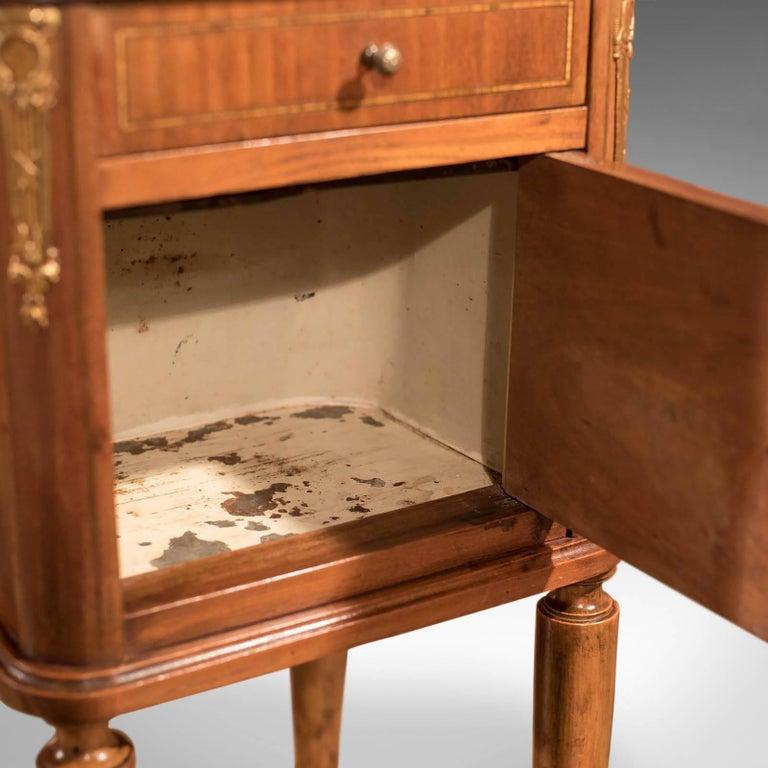 Antique Bedside Table, Mahogany Pot Cupboard, Nightstand, circa 1900 3