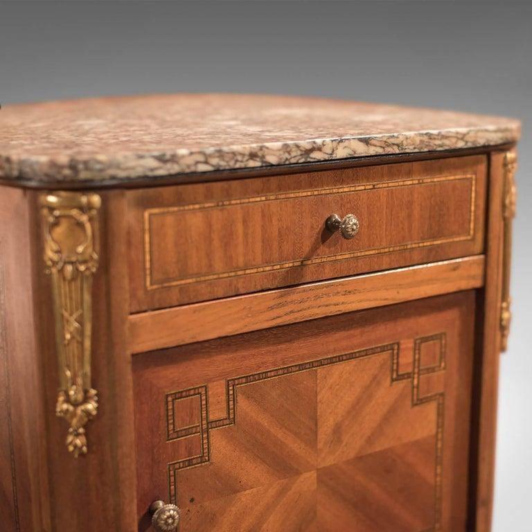 20th Century Antique Bedside Table, Mahogany Pot Cupboard, Nightstand, circa 1900