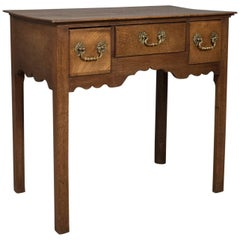 Antique Lowboy, Mahogany, English, Victorian Side Table, circa 1900